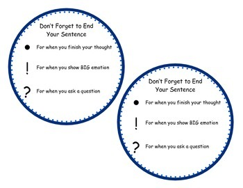 Don't Forget to End Your Sentence: Punctuation Reminder