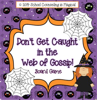 Don't Get Caught in the Web of Gossip Board Game