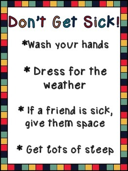 Don't Get Sick Poster