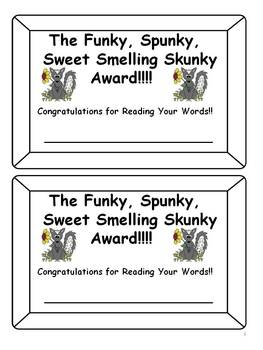 Don't Get Skunked 1st Grade Treasures Edition Word Games