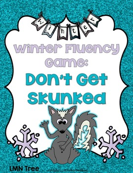 Winter Fluency Word Game
