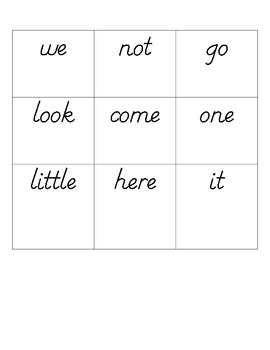 Don't Get Stung By The Bee Sight Word Game