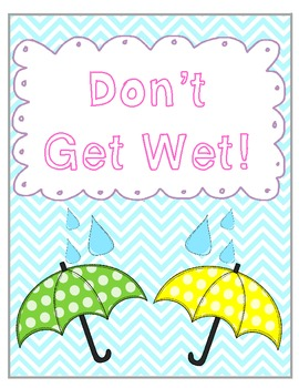 Don't Get Wet - A Game to Practice Multiplication Facts