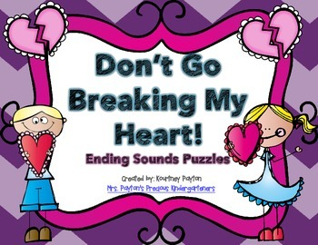 Don't Go Breaking My Heart - Ending Sounds Puzzles