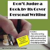 Don't Judge a Book By Its Cover Personal Writing Narrative & Multimedia