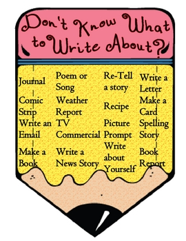 Don't Know What to Write About?