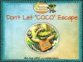 "Don't Let ""Coco"" Escape: Book and Book Companion for Speech & Language"