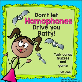 Don't Let Homophones Drive You Batty