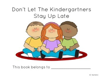 Don't Let the Kindergartner Stay Up Late-Emergent Reader-Mo Willems Author Study