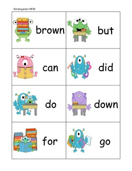 Don't Let the Monsters Miss the Bus! Letter Recognition and Word Recognition