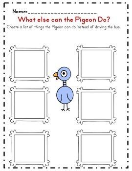 Don't Let the Pigeon Drive the Bus Activity Set (Common Core Aligned)