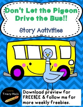 Don't Let the Pigeon Drive the Bus-Common Core Activities-