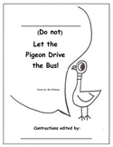 Don't Let the Pigeon Drive the Bus Contraction Fun!