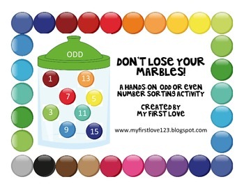 Don't Lose Your Marbles! A Hands-On Odd or Even Number Sort Activity