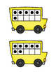 Ten Frame Matching Activity: Don't Miss The Bus!