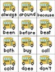 Don't Miss the Bus! A Back to School Sight Word Game - Dolch 2nd Grade Words
