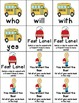 Don't Miss the Bus! A Back to School Sight Word Game - With Dolch Primer Words