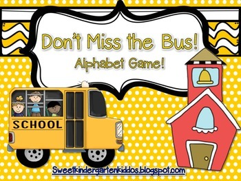 Don't Miss the Bus! Interactive Alphabet Game