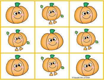 Don't Pick the Pumpkin (Multiplication Facts 0-5)
