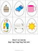 Don't Put All Your Eggs In One Basket (Spring Math and Literacy Centers)