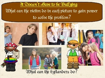 Don't Say Bully:  PowerPoint on Understanding Power Differences