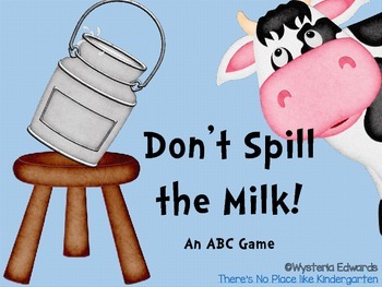 Don't Spill the Milk: An ABC Game