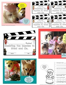 Don't Steal And Lie Rescue Dogs' Social Story!  SPED/ELD