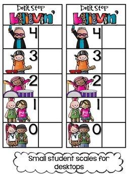 Don't Stop, Believin'! {Fun classroom Marzano Scales}