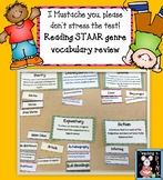 STAAR! Reading Vocabulary Review 3rd and 4th Grade