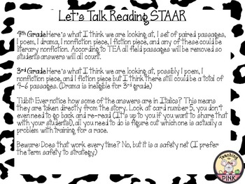STAAR Reading Review to the Rescue: Don't Stress the Test