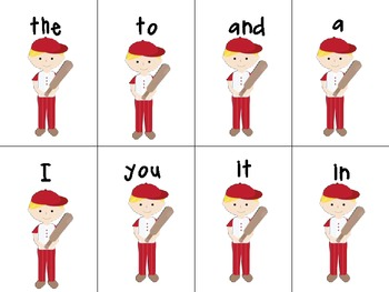 Don't Strike Out : A Sight Word Game