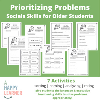 Don't Sweat the Small Stuff - Social Skills Activities for Middle/High School