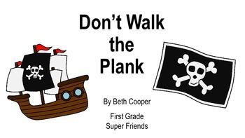 Don't Walk the Plank  Pirate Behavior Clip Chart