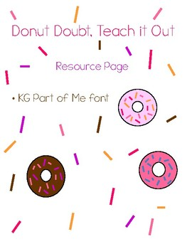 Donut Addition Worksheet