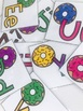 Donut Alphabet Cards