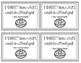 Donut Appreciation Tags- Editable