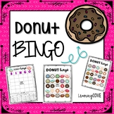 Donut BINGO ***BONUS TIC-TAC-TOE***