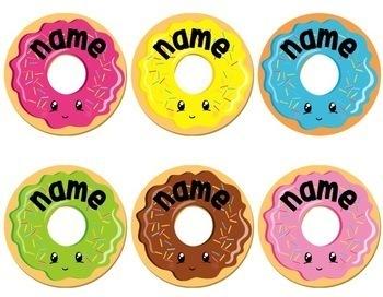 Donut Back to School Display {Editable}