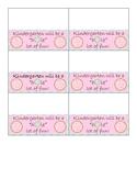 Donut Bag Labels (Open House)