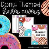 Donut Binder Covers