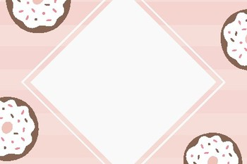 Donut Blank Editable Labels Flashcards
