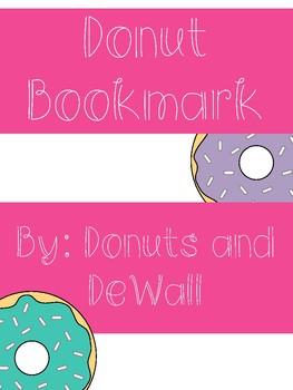 Donut Bookmark