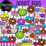 Donut Buds Clipart {Creative Clips Clipart}