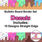 Donut Bulletin Board Border Trim Colorful Fun