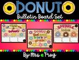 Donut Bulletin Board Set