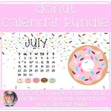 Donut Calendar Decor Bundle