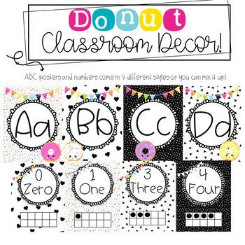 Donut Classroom Decor!