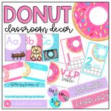 Donut Classroom Decor