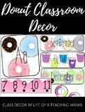 Donut Classroom Theme Decor