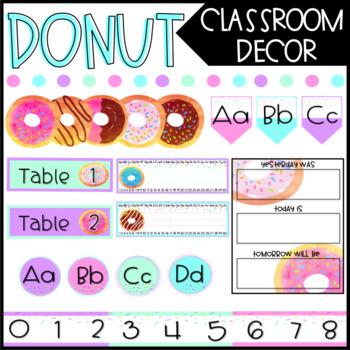 Donut Classroom Decor - Bundle